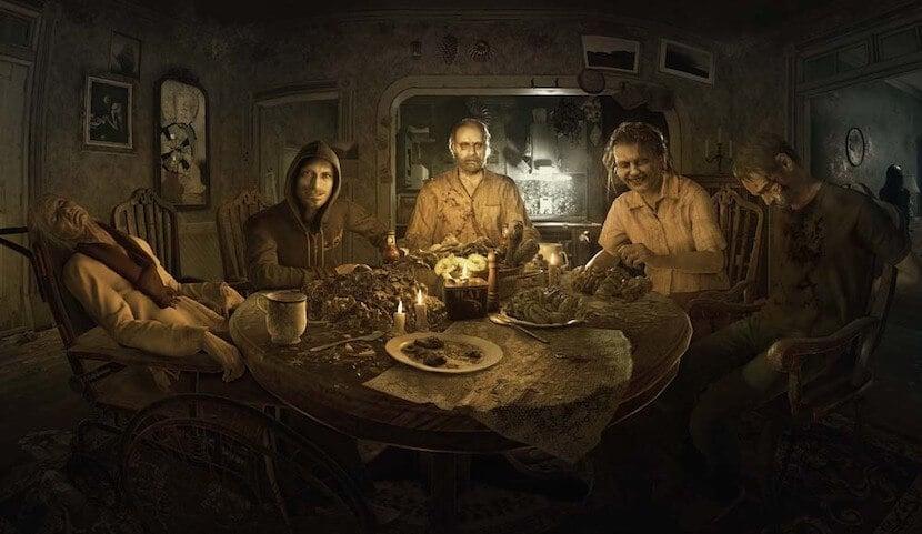 バイオハザード7 ベイカー家の食卓